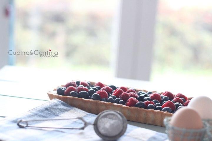 ricettacrostata-cioccolato-frutti-bosco